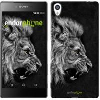 Чехол для Sony Xperia Z5 Premium Лев 1080u-345