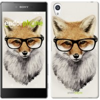 Чехол для Sony Xperia Z5 Premium Лис в очках 2707u-345