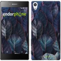 Чехол для Sony Xperia Z5 Premium Листья v3 3328u-345