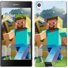 Чехол для Sony Xperia Z5 Premium Minecraft 4 2944u-345
