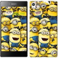 Чехол для Sony Xperia Z5 Premium Миньоны 8 860u-345