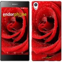 Чехол для Sony Xperia Z5 Premium Красная роза 529u-345