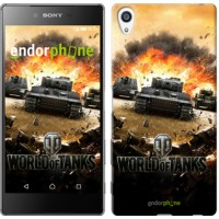 Чехол для Sony Xperia Z5 Premium World of tanks v1 834u-345