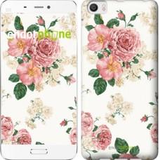 Чехол для Xiaomi Mi6 Plus цветочные обои v1 2293c-978