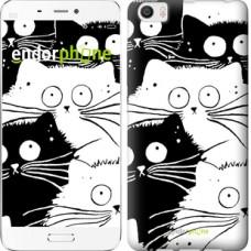 Чехол для Xiaomi Mi6 Plus Коты v2 3565c-978