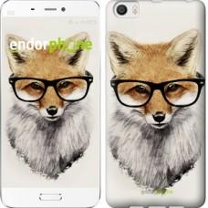 Чехол для Xiaomi Mi6 Plus Лис в очках 2707c-978