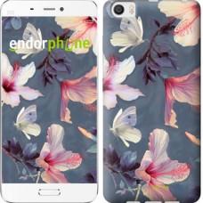 Чехол для Xiaomi Mi6 Plus Нарисованные цветы 2714c-978
