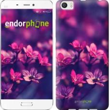 Чехол для Xiaomi Mi6 Plus Пурпурные цветы 2719c-978