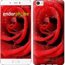 Чехол для Xiaomi Mi6 Plus Красная роза 529c-978