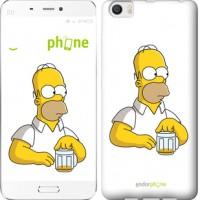 Чехол для Xiaomi Mi6 Plus Задумчивый Гомер. Симпсоны 1234c-978