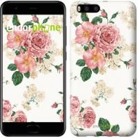 Чехол для Xiaomi Mi6 цветочные обои v1 2293c-965