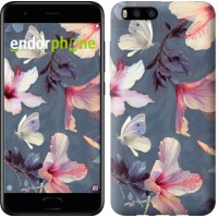 Чехол для Xiaomi Mi6 Нарисованные цветы 2714c-965