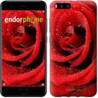 Чехол для Xiaomi Mi6 Красная роза 529c-965