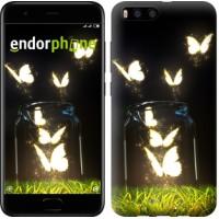 Чехол для Xiaomi Mi6 Светящиеся бабочки 2983c-965