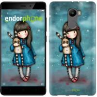 Чехол для Xiaomi Redmi 4 Девочка с зайчиком 915m-417