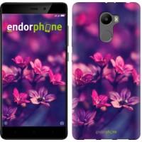 Чехол для Xiaomi Redmi 4 Пурпурные цветы 2719m-417