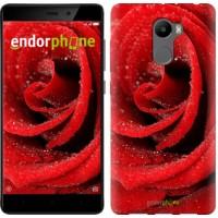 Чехол для Xiaomi Redmi 4 Красная роза 529m-417