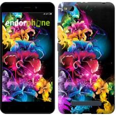 Чехол для Xiaomi Redmi 4A Абстрактные цветы 511m-631