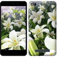 Чехол для Xiaomi Redmi 4A Белые лилии 2686m-631