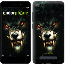 Чехол для Xiaomi Redmi 4A Дьявольский волк 833m-631