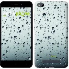 Чехол для Xiaomi Redmi 4A Стекло в каплях 848m-631