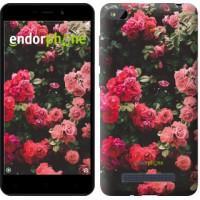 Чехол для Xiaomi Redmi 4A Куст с розами 2729m-631