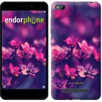 Чехол для Xiaomi Redmi 4A Пурпурные цветы 2719m-631