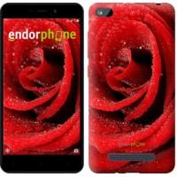 Чехол для Xiaomi Redmi 4A Красная роза 529m-631