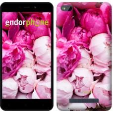 Чехол для Xiaomi Redmi 4A Розовые пионы 2747m-631