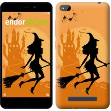 Чехол для Xiaomi Redmi 4A Ведьма на метле 1184m-631