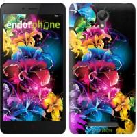 Чехол для Xiaomi Redmi Note 2 Абстрактные цветы 511c-96
