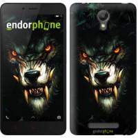 Чехол для Xiaomi Redmi Note 2 Дьявольский волк 833c-96