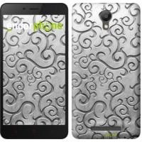 Чехол для Xiaomi Redmi Note 2 Металлический узор 1015c-96