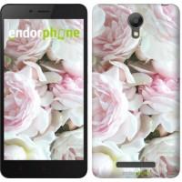 Чехол для Xiaomi Redmi Note 2 Пионы v2 2706c-96