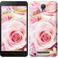 Чехол для Xiaomi Redmi Note 2 Розы 525c-96