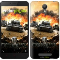 Чехол для Xiaomi Redmi Note 2 World of tanks v1 834c-96
