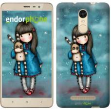Чехол для Xiaomi Redmi Note 3 pro Девочка с зайчиком 915c-335