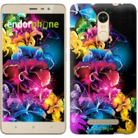Чехол для Xiaomi Redmi Note 3 pro Абстрактные цветы 511c-335