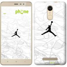 Чехол для Xiaomi Redmi Note 3 Air Jordan 3688c-95