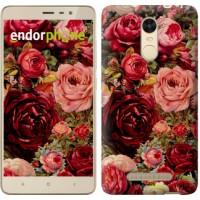 Чехол для Xiaomi Redmi Note 3 pro Цветущие розы 2701c-335