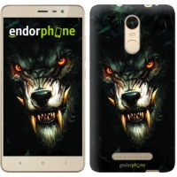 Чехол для Xiaomi Redmi Note 3 pro Дьявольский волк 833c-335