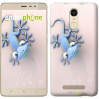 Чехол для Xiaomi Redmi Note 3 pro Гекончик 1094c-335