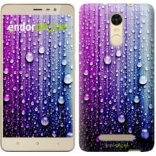 Чехол для Xiaomi Redmi Note 3 pro Капли воды 3351c-335