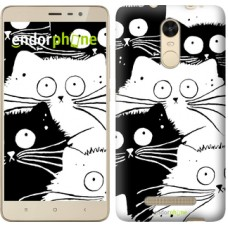 Чехол для Xiaomi Redmi Note 3 pro Коты v2 3565c-335