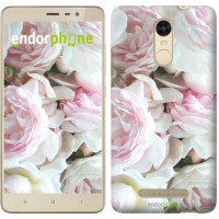 Чехол для Xiaomi Redmi Note 3 pro Пионы v2 2706c-335