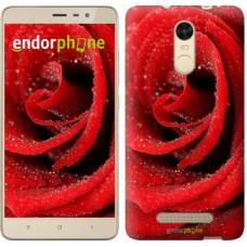 Чехол для Xiaomi Redmi Note 3 pro Красная роза 529c-335