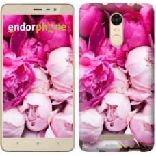 Чехол для Xiaomi Redmi Note 3 pro Розовые пионы 2747c-335