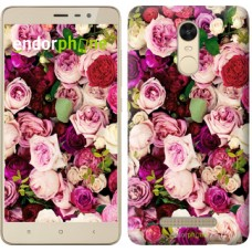 Чехол для Xiaomi Redmi Note 3 pro Розы и пионы 2875c-335