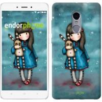 Чехол для Xiaomi Redmi Note 4 Девочка с зайчиком 915u-352