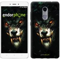 Чехол для Xiaomi Redmi Note 4 Дьявольский волк 833u-352